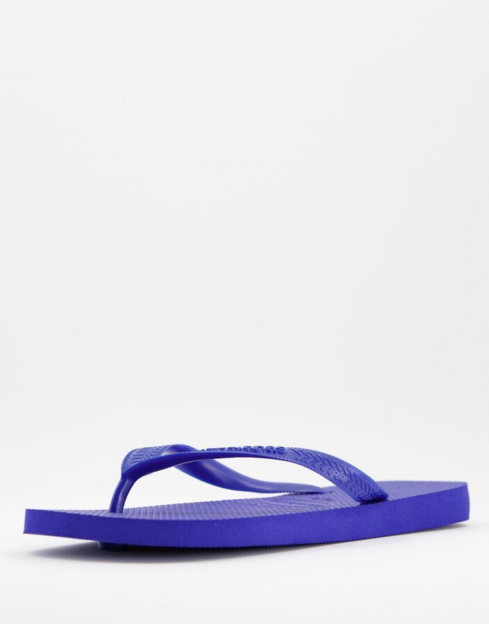 Thumbnail for your product : Havaianas classic top flip flops in blue