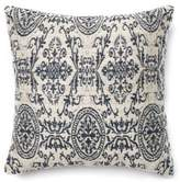 loloi medlin weave 22inch square throw pillow in beigeblack