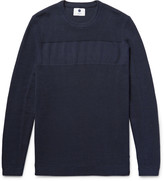 Nn07 - Henrik Waffle-knit Cotton Sweater