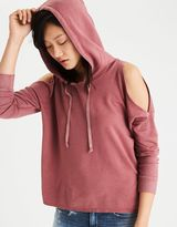 American Eagle Outfitters AE Soft & Sexy Cold Shoulder Hoodie