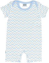 Kushies Light Blue Romper - Infant