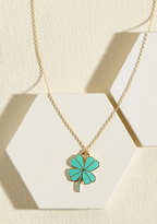 ModCloth As Luck Would Fab It Necklace