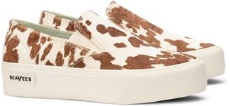 SeaVees Baja Genuine Calf Hair Platform Sneaker