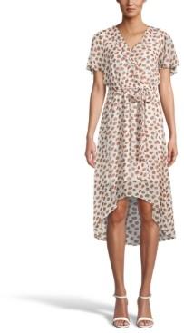 Bar III Printed A-Line Dress, Created for Macy's