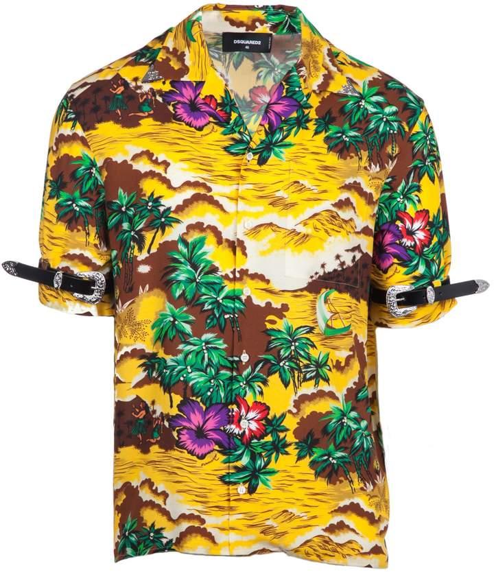 DSQUARED2 2 Novelty Print Shirt