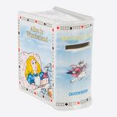 NEW Cardew Design Alice In Wonderland Saving Book Money Bank