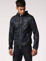 Diesel DieselTM Leather jackets 0HAPH - Blue - S