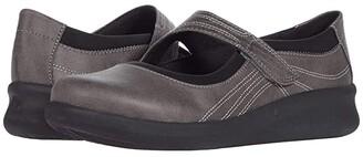 Clarks Sillian 2.0 Joy (Grey Synthetic) Women's Shoes