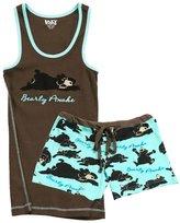 Lazy One WB935/TT935 Women's Bearly Awake Cotton Pajama Pyjama Set XL