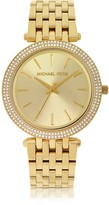 Michael Kors Mid-Size Golden Stainless Steel Darci Women's Watch