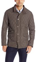 London Fog Men's Dallas Diamond-Quilted Coat