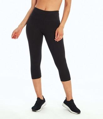 Marika Women's Carrie Butt Booster Capri Leggings - Black - XL