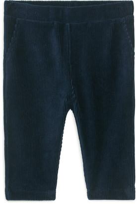 Arket Velvet Jersey Trousers