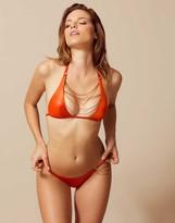 Agent Provocateur Tonya Bikini Top Orange
