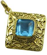 Riyo drop-dead Topaz CZ Gold Plated Pendant wholesale gift
