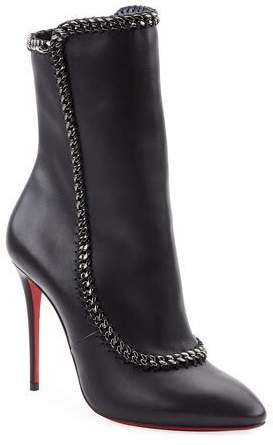 b1b9fbb7c76 Clemence Red Sole Booties