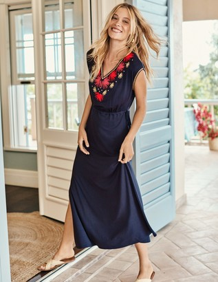 Boden Marcia Embroidered Maxi Dress