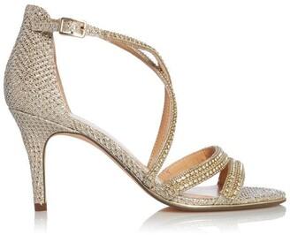 Roland Cartier Melanie Cross Strap Slingback Sandals
