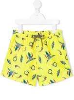 Sunuva Buffalo print swim shorts