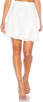 Lucy Paris Rose Burnout Skirt