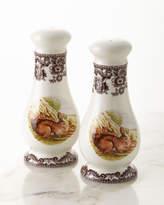 Spode Woodland Rabbit Salt & Pepper Set