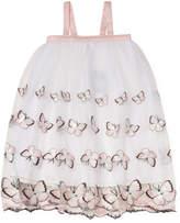 Halabaloo Butterfly Mesh Dress