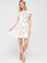 Very Smock T-shirt Dress - Floral Print