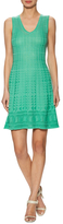 M Missoni Knit Wool A-line Dress
