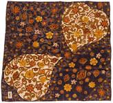 One Kings Lane Vintage Yves Saint Laurent Heart Silk Scarf
