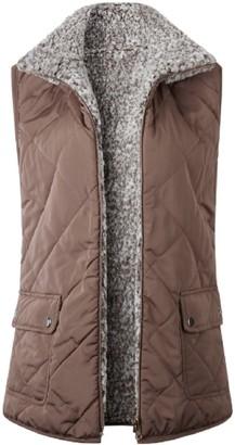 Goodnight Macaroon 'Iram' Reversible Fleece Vest (2 Colors)