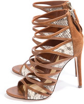 Brian Atwood Lynnden Cage Sandal