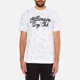 Billionaire Boys Club Men's Galaxy Astro Short Sleeve TShirt - White
