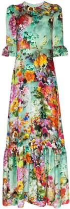 Mary Katrantzou floral print maxi dress