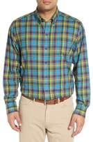Cutter & Buck 'Timber' Plaid Cotton Twill Sport Shirt