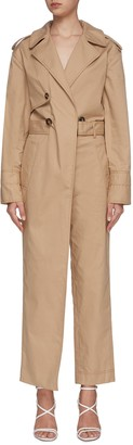 Jonathan Simkhai Harlow trench jumpsuit
