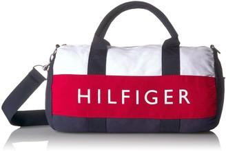 Tommy Hilfiger Unisex's Duffle Bag Patriot Colorblock Mini Tommy