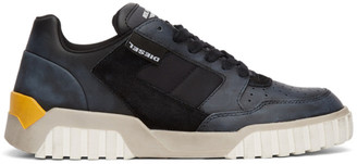 Diesel Black S-Rua Low 90 Sneakers
