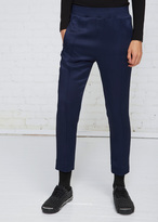 Haider Ackermann Indigo Elastic Waistband Trouser