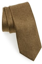Lanvin Men's Solid Silk Skinny Tie