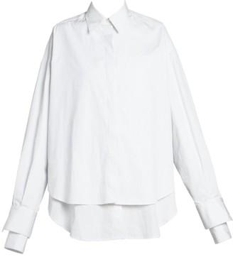 Rokh Layered Cotton Shirt