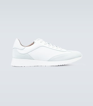 Gianvito Rossi Exclusive to Mytheresa - Grand Prix leather sneakers