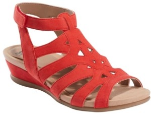 Earth Women's Pisa Chatham Low Wedge Sandal Women's Shoes