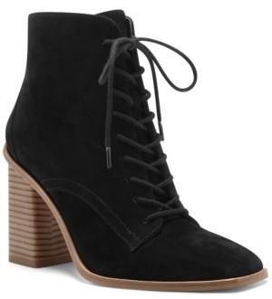 Vince Camuto Women's Dreveri Lace-Up Booties Women's Shoes