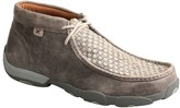 Twisted X Men's Basketweave Leather Chukka Driving Moccasins