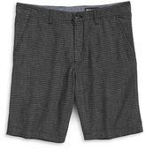 DKNY Striped Chambray Shorts