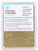 Martha Stewart Ink Pad-gold, Set Of 3