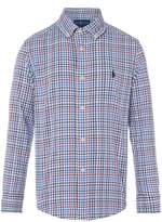 Polo Ralph Lauren Boys Poplin Gingham Shirt