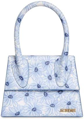 Jacquemus LE GRAND CHIQUITO PRINTED LEATHER BAG