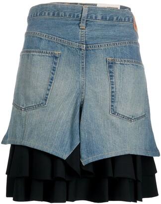 Junya Watanabe Back To Front Skirt