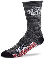 For Bare Feet Men's Chicago Blackhawks Deuce Crew Socks